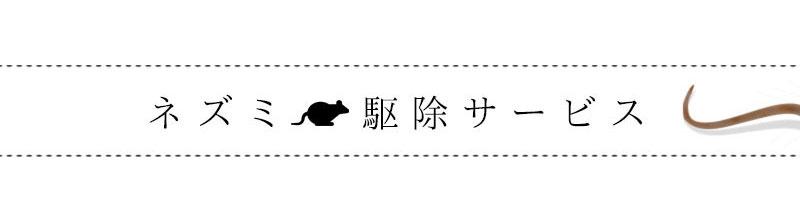 ネズミ駆除サービス